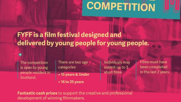 Short Film Competition for young filmmakers - submissions now open!